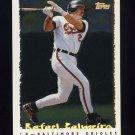 1995 Topps Baseball Cyberstats #056 Rafael Palmeiro - Baltimore Orioles