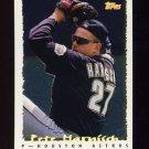 1995 Topps Baseball Cyberstats #036 Pete Harnisch - Houston Astros