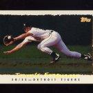 1995 Topps Baseball Cyberstats #032 Travis Fryman - Detroit Tigers