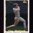 1995 Topps Baseball Cyberstats #030 Tim Wallach - Los Angeles Dodgers