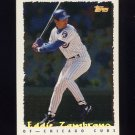 1995 Topps Baseball Cyberstats #026 Eddie Zambrano - Chicago Cubs