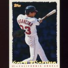1995 Topps Baseball Cyberstats #010 Gary DiSarcina - California Angels