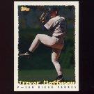 1995 Topps Baseball Cyberstats #005 Trevor Hoffman - San Diego Padres