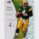 1998 E-X2001 Football #04 Brett Favre - Green Bay Packers