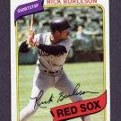 1980 Topps Baseball #645 Rick Burleson - Boston Red Sox