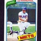 1980 Topps Baseball #641 Ed Kranepool - New York Mets NM-M