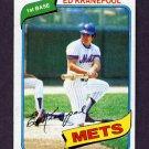 1980 Topps Baseball #641 Ed Kranepool - New York Mets Ex