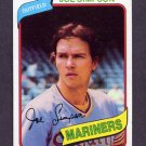 1980 Topps Baseball #637 Joe Simpson - Seattle Mariners NM-M