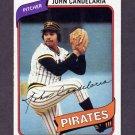 1980 Topps Baseball #635 John Candelaria - Pittsburgh Pirates ExMt