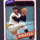 1980 Topps Baseball #635 John Candelaria - Pittsburgh Pirates Ex