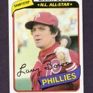 1980 Topps Baseball #630 Larry Bowa - Philadelphia Phillies ExMt