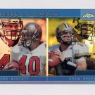 2001 Topps Chrome Combos Football #TC15 Mike Alstott / Drew Brees