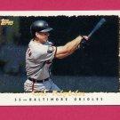 1995 Topps Baseball Cyberstats #360 Cal Ripken - Baltimore Orioles