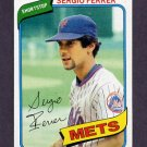 1980 Topps Baseball #619 Sergio Ferrer - New York Mets NM-M
