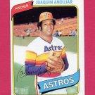 1980 Topps Baseball #617 Joaquin Andujar - Houston Astros ExMt