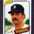 1980 Topps Baseball #614 John Hiller - Detroit Tigers NM-M