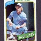 1980 Topps Baseball #611 Jerry Garvin - Toronto Blue Jays