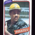 1980 Topps Baseball #610 Willie Stargell - Pittsburgh Pirates ExMt