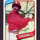 1980 Topps Baseball #587 Garry Templeton - St. Louis Cardinals NM-M