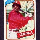 1980 Topps Baseball #587 Garry Templeton - St. Louis Cardinals Ex