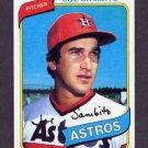 1980 Topps Baseball #571 Joe Sambito - Houston Astros