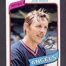 1980 Topps Baseball #556 Joe Rudi - California Angels