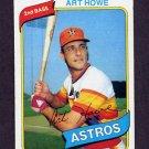1980 Topps Baseball #554 Art Howe - Houston Astros Ex