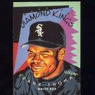 1995 Donruss Baseball Diamond Kings #DK01 Frank Thomas - Chicago White Sox