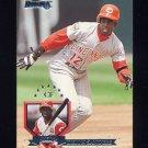 1995 Donruss Baseball #415 Deion Sanders - Cincinnati Reds