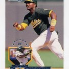 1995 Donruss Baseball #406 Ruben Sierra - Oakland A's