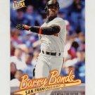 1997 Ultra Baseball Gold Medallion #290 Barry Bonds - San Francisco Giants