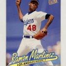 1997 Ultra Baseball Gold Medallion #219 Ramon Martinez - Los Angeles Dodgers