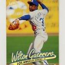 1997 Ultra Baseball Gold Medallion #217 Wilton Guerrero - Los Angeles Dodgers