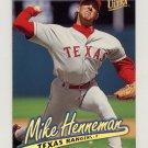 1997 Ultra Baseball Gold Medallion #135 Mike Henneman - Texas Rangers