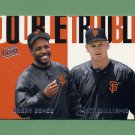 1997 Ultra Baseball Double Trouble #20 Barry Bonds / Matt Williams - San Francisco Giants