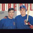 1997 Ultra Baseball Double Trouble #03 Jim Edmonds / Tim Salmon - California Angels
