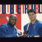 1997 Ultra Baseball Double Trouble #02 Mo Vaughn / Jose Canseco - Boston Red Sox