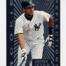 1997 Ultra Baseball Rookie Reflections #05 Derek Jeter - New York Yankees