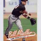 1997 Ultra Baseball #297 Bill Mueller RC - San Francisco Giants