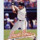 1997 Ultra Baseball #292 Jacob Cruz - San Francisco Giants