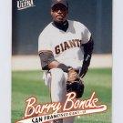 1997 Ultra Baseball #290 Barry Bonds - San Francisco Giants