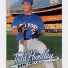 1997 Ultra Baseball #239 Todd Hundley - New York Mets
