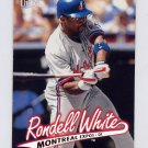 1997 Ultra Baseball #235 Rondell White - Montreal Expos