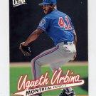 1997 Ultra Baseball #234 Ugueth Urbina - Montreal Expos