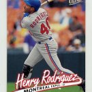 1997 Ultra Baseball #233 Henry Rodriguez - Montreal Expos