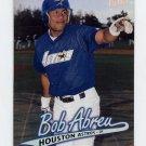 1997 Ultra Baseball #203 Bob Abreu - Houston Astros