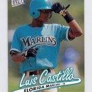 1997 Ultra Baseball #194 Luis Castillo - Florida Marlins