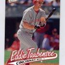 1997 Ultra Baseball #182 Eddie Taubensee - Cincinnati Reds