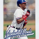 1997 Ultra Baseball #159 Wonderful Monds - Atlanta Braves