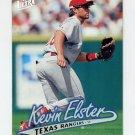 1997 Ultra Baseball #131 Kevin Elster - Texas Rangers